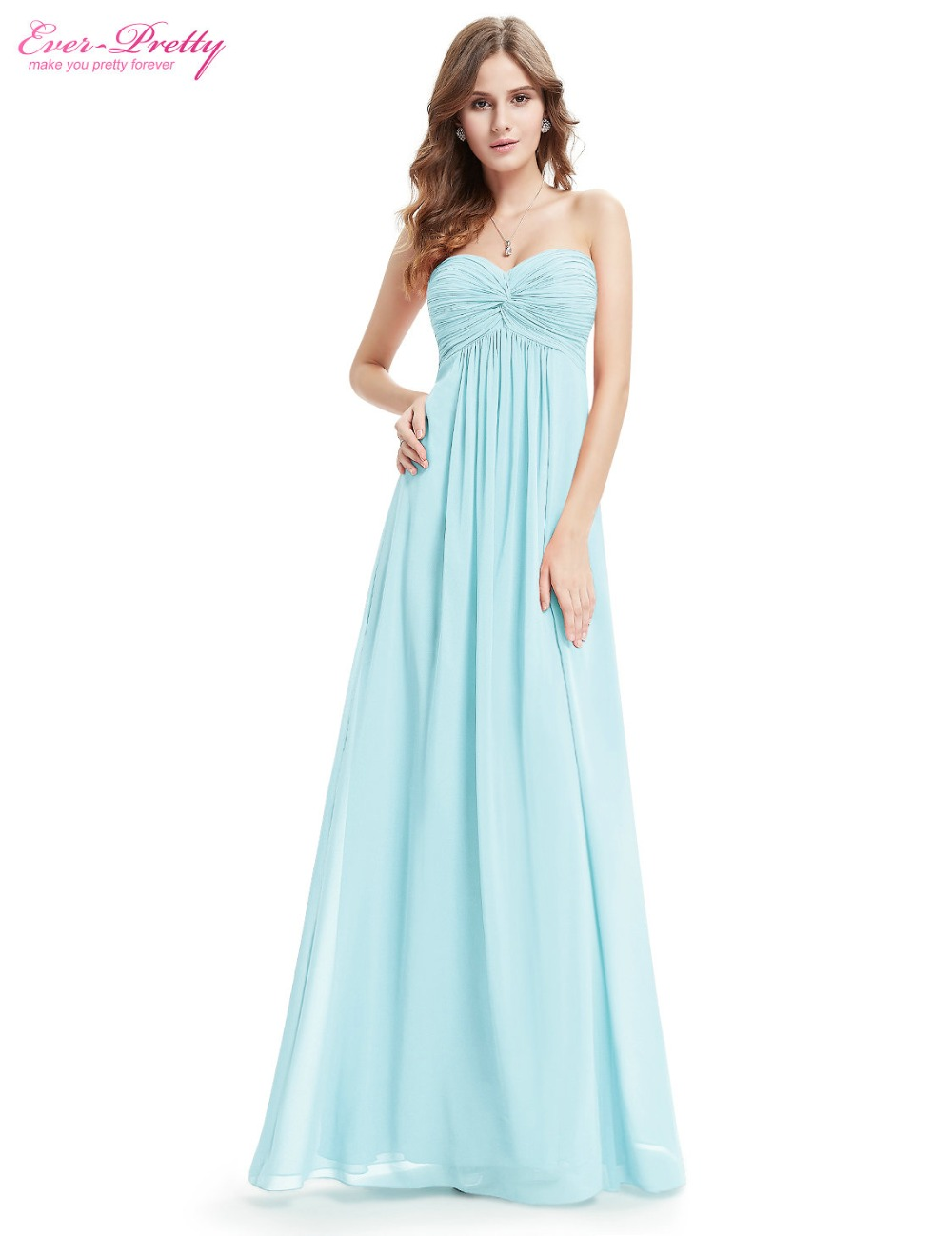 Compare prices on bridesmaid dress strapless online shoppingbuy clearance sale elegant wedding party dresses ever pretty he08084 strapless ruffled long bridesmaid dresses ombrellifo Image collections