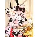 Precio de fábrica de moda lienzo Hello Kitty bolsos / bolso de compras / bolso del mensajero del bolso bolsas de pañales