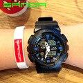 2016 Новый SANDA Мужские Часы G Стиль Водонепроницаемый Спортивные Часы S-shock мужская Аналоговые Кварцевые Цифровые Часы OP001
