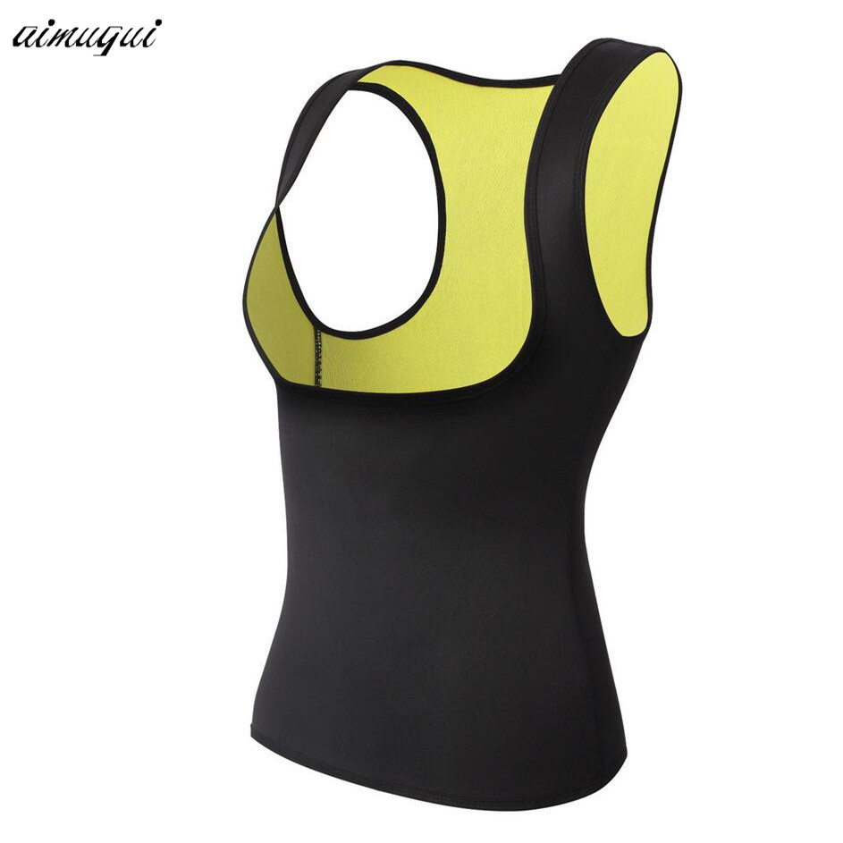 Hot shaper waist trainer vest Neoprene slimming vest body shaper waist cincher corset fitness sweating weight loss corset shaper