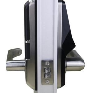 Image 3 - Electronic Fingerprint Door Lock Digital Smart Door lock unlock by Fingerprint ,Code, Card, and Mechanical key with 2 cards