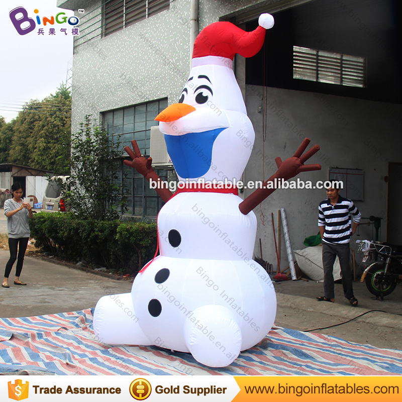 christmas inflatable olaf hot sale gaint inflatable snowman inflatable olaf snowman model for inflatable christmas decorations in inflatable bouncers from