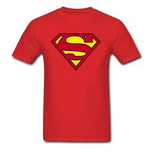 be019908ce1 LYNSKEY Here Comes Your Superman 2018 T Shirt Black Red Yellow Tops Hero  Logo Custom