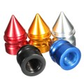 4 Pcs/Set Aluminum Tire Rim Wheel Valve Cap Dust Cover Universal Car Van Bike Motorbike