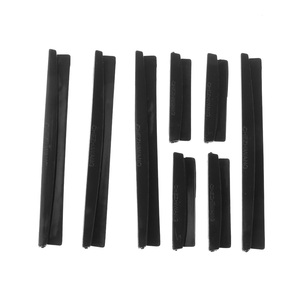 Image 5 - 8Pcs/Set Universal Car Door Guard Edge Corner Bumper Buffer Trim Molding Protection Strip Scratch Protector Auto Crash Bar