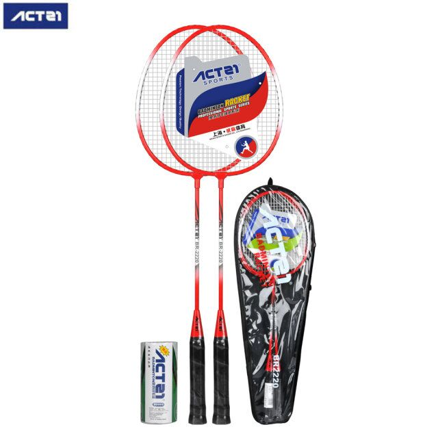 ACTEI Badminton Racket 2018 Lightweight And Durable Badminton Racket Outdoor Sports Fitness Equipment
