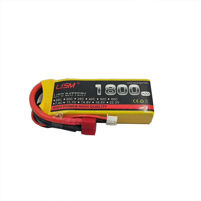 <font><b>2s</b></font> <font><b>Lipo</b></font> Rc battery 7.4V 30C <font><b>1800mAh</b></font> for UVA Drone Boat Quadcopter Car RC Airplane Drone Helicopter Quadrotor #40Y16 image
