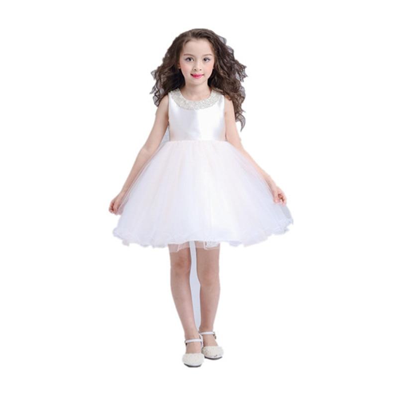 ФОТО BBWOWLIN Pink Princess Baby Clothes Girls Dresses for 0-2T Toddler Clothing Vestido Infantil Birthday Christmas Gift 80202