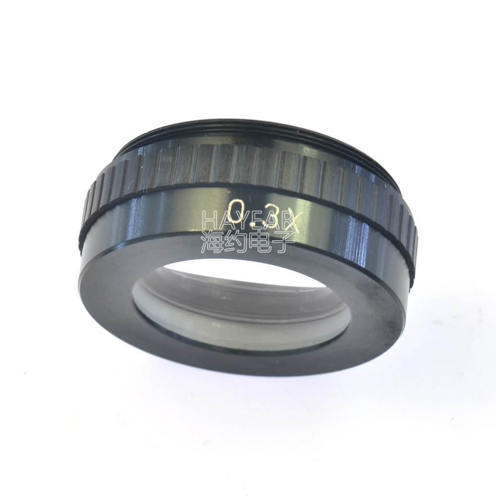 42mm Mounting 0.3X Objective Auxiliary Barlow Lens for Monocular Microscope