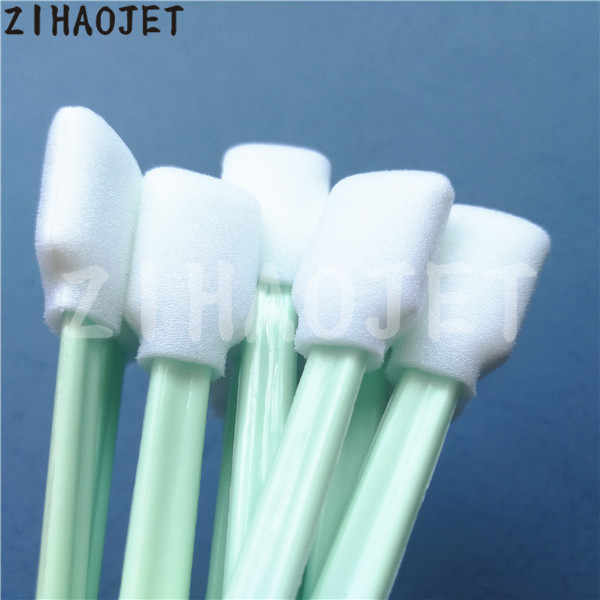 50 pcs/lot ITW Cleanroom Polyester Cleaning Swab-Ganti Texwipe TX714A Besar Alpha Polyester Swab (Cleanroom Consumables)