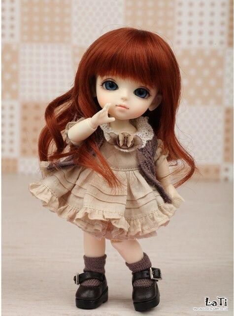 OUENEIFS bjd sd doll lati yellow sunny lea lami kuro coco doll 1/8 body include eyes model reborn High Quality toys