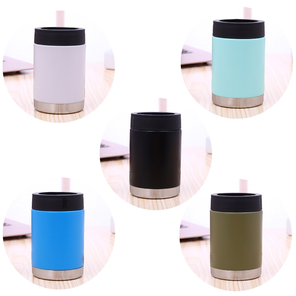 Customized logo 12oz beer tumbler stainless steel car cup