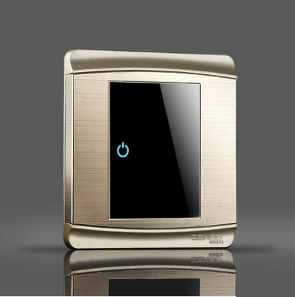 Switch panel gentleman at any point on the flat strip LED light switch hotel switch home studies on women at mari