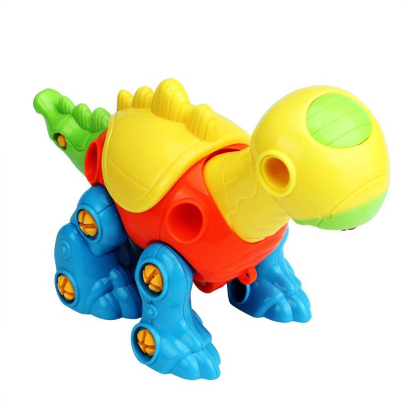 New Christmas Gift Kids Baby Boys Girls Disassembly Assembly Dinosaur Car Design Funny Educational Toys For Children Boy 20