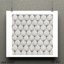 AZSG Sunflower seed/Stripe Clear Stamps For Scrapbooking DIY Clip Art /Card Making Decoration Crafts
