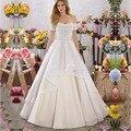 Vestido Де Noiva Высокое Качество A-Line Люкс Свадебное Платье 2017