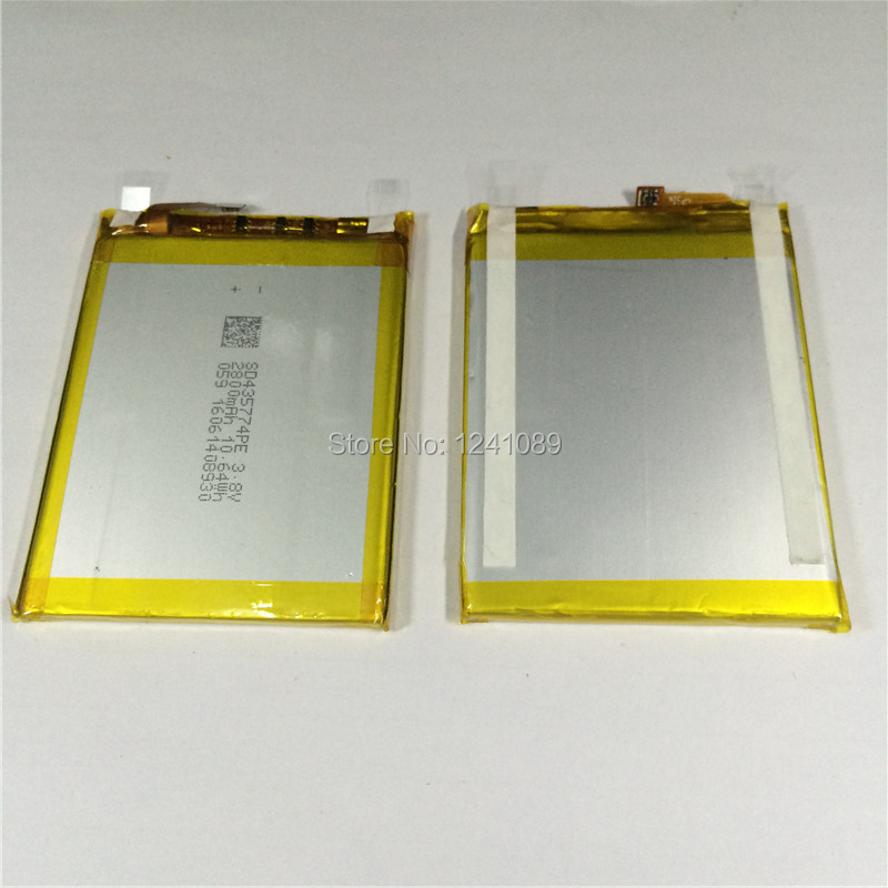 100% original battery vernee thor battery 2800mAh 5.0inch MTK6753 +disassemble tool Long standby time Mobile phone battery