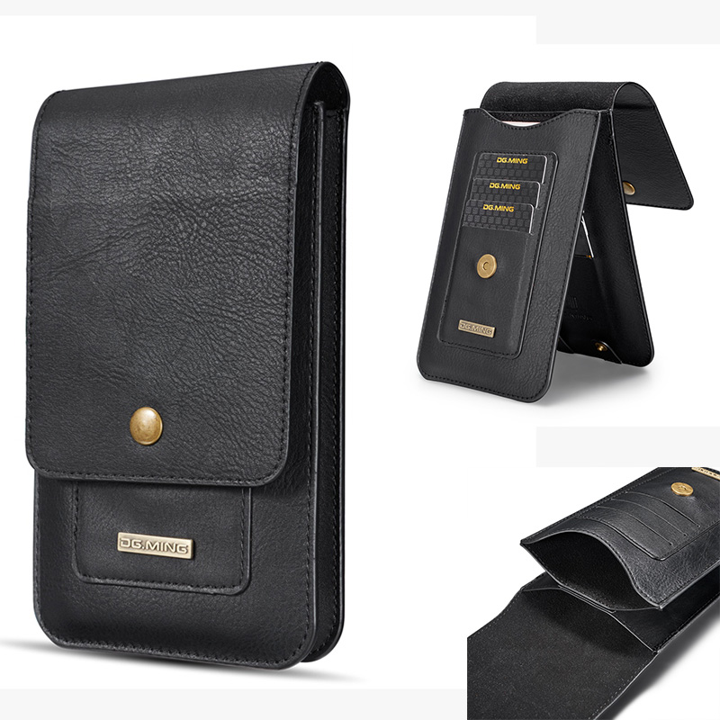 5.5/6.5 Leather Phone Pouch Hook Loop Belt Case for Samsung Galaxy S10 Plus Note 9 8 for iPhone XR XS Max for Huawei P30 Pro5.5/6.5 Leather Phone Pouch Hook Loop Belt Case for Samsung Galaxy S10 Plus Note 9 8 for iPhone XR XS Max for Huawei P30 Pro