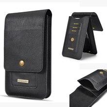 5,5 «/6,5» кожаный чехол для телефона крюк-петля ремень чехол для samsung Galaxy S10 плюс примечание 9 8 для iPhone XR XS Max для huawei P30 Pro