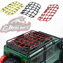 GWOLVES 1:10 RC Rock Crawler Monster truck Elastic Luggage Net for Axial SCX10 90046 Tamiya CC01 RC4WD D90 D110 Trax TRX-4 bearing for tamiya blackfoot frog monster beetle