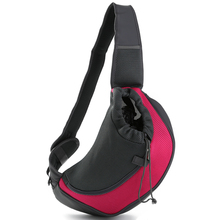 Breathable Dog Front Carrying Bags Mesh Comfortable Travel Tote Shoulder Bag For Puppy Cat Small Pets Slings Backpack Carriers