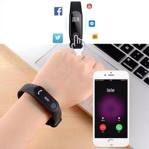 Image 5 - 스포츠 팔찌 스마트 시계 남성 여성 안드로이드에 대한 smartwatch ios 피트니스 트래커 전자 스마트 시계 밴드 smartband smartwach