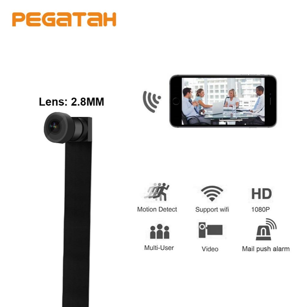 HD 1080 P mini caméra IP WIFI Surveillance À Distance Infrarouge vision nocturne Soutien TF Carte MAX 128G IP Caméra Avec Batterie