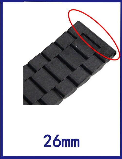 51b2835e01e 18mm 20mm 22mm 23mm 26mm Em Aço Inoxidável Faixa de Relógio para ...