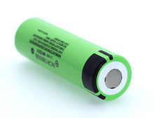 100% New Panasonic Original NCR18650B 3.7 v 3400 mah 18650 Lithium Rechargeable Battery For Flashlight batteries(China)
