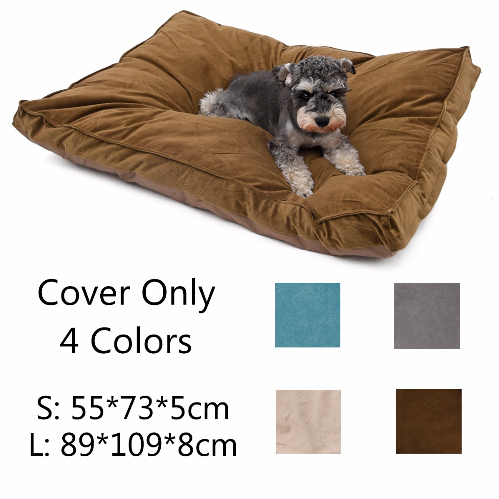 Pet Mat Covers Hot Soft Warm Dog Cushion Covers Duurzaam Dog Cat Bed Cover Huisdier Matten Groot Dog Bed Mat Cover 4 Kleuren Dog Products