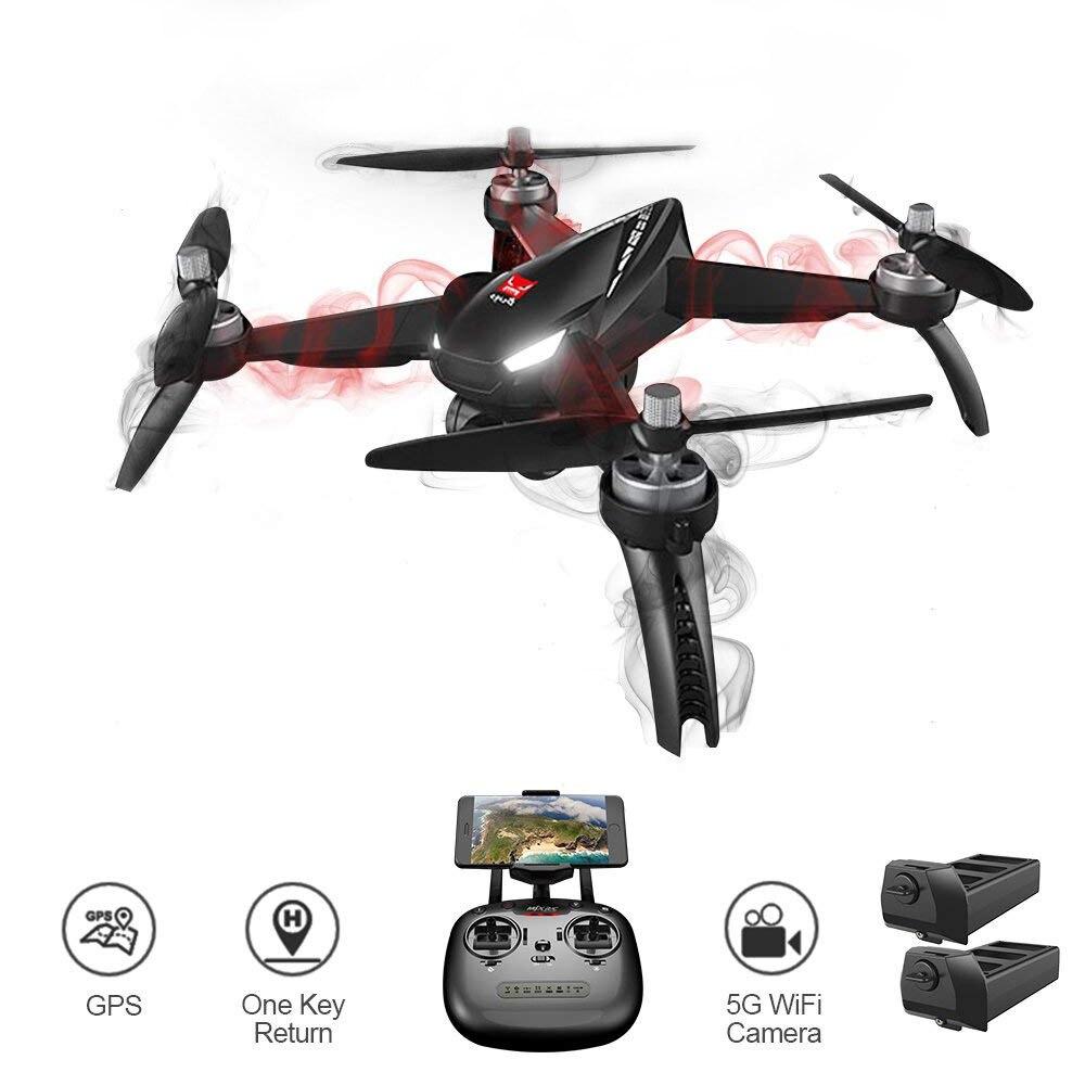 Глобальный Drone B5W Follow Me RC Дрон Hign держать fpv-квадрокоптер безщеточный gps профессиональный HD Drone с Камера 1080 P