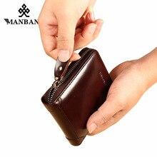 ManBang New Men's Wallet Genuine Leather Men's
