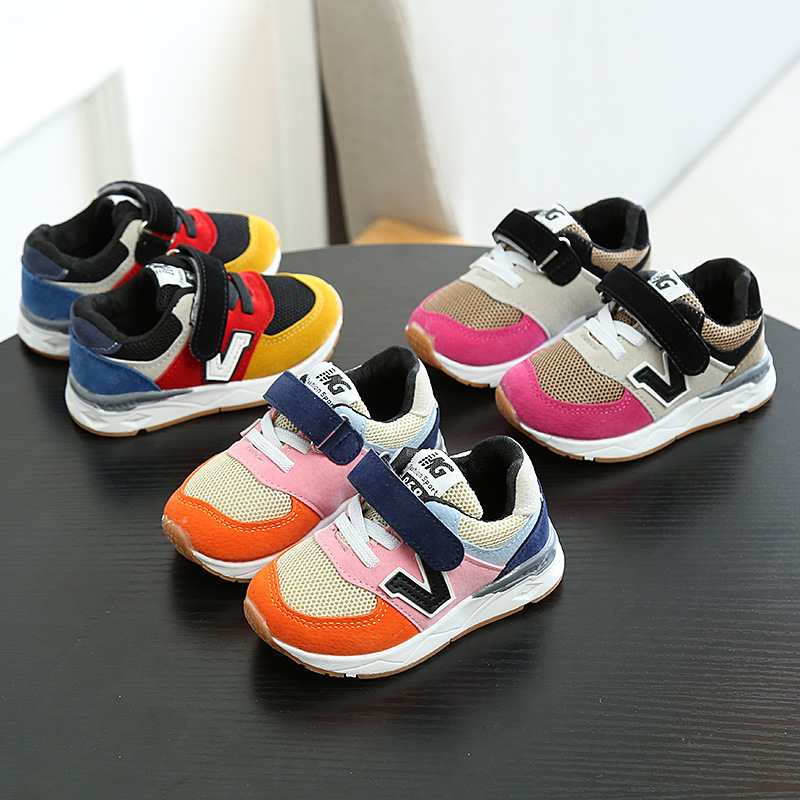 2018 New High Quality Shoes Baby Girls Boys Spring Autumn Cool Sneakers Kids Lovely Cute Casual