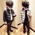 Solid Warm Baby Jacket Winter Boys Down Coat WindProof Kids Outwear Fashion Brands Clothing Jaqueta Roupa Infant TZ111