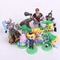 ביצת אגדה של זלדה קישור מיני PVC פעולה דמויות אוסף צעצועי 12 יח'\סט 3.8 ~ 5.8 ס