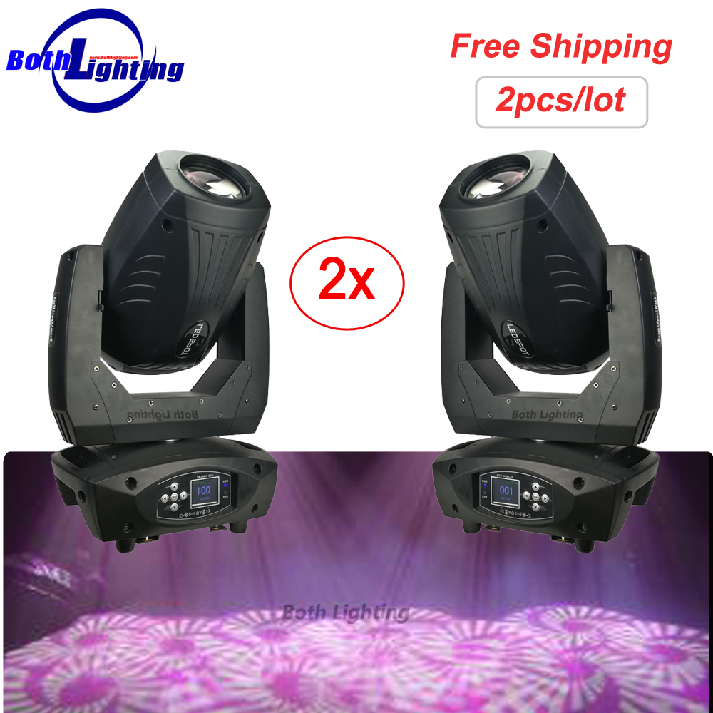 LED Moving Head Light 200W Spot LED Moving Head Gobo Lights with DMX Control for Projector DJ Stage Lighting