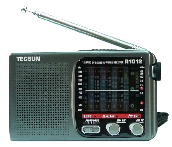 Einzelhandel-großhandel Neue Volle Marke Tecsun R-1012 Hohe Qualität Mw Sw Fm-tv 12 Bands Welt Radio Receiver Produkte Werden Ohne EinschräNkungen Verkauft Unterhaltungselektronik