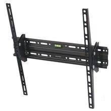 ТВ Кронштейн Arm media PLASMA-4 new black (Наклонный, диагональ экрана 22-65 дюймов/56-165 см, расстояние от стены 7.4 см, угол наклона ±15°, макс.нагрузка 55 кг)