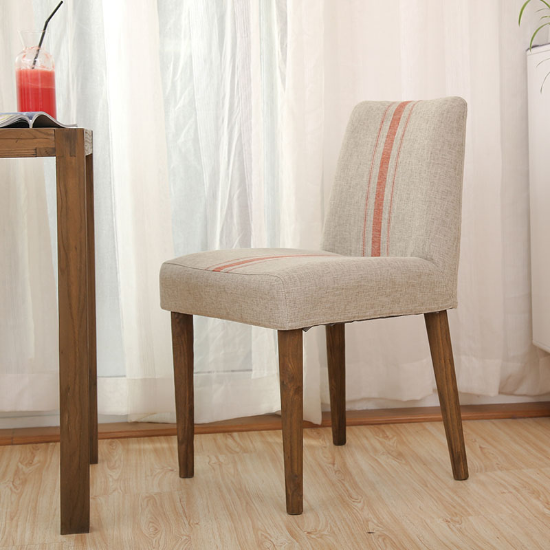 Hot Leisure Chair cloth western dining chair coffee chair soft dining chairs Wooden Living Room Furniture Wood Leg Bar Stool fanuc servo drive amplifier a06b 6093 h102 a06b 6093 h101 beta series svu 12 12 amp