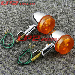 For HONDA CB400 CB400SS CL400 Turn Signal Lights Direction Lamp Indicator Steering Lamp 1Pair