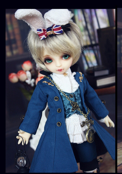 Little Rabbit Outfit Suit 7pcs for BJD Doll 1 6 YOSD Doll Clothes LF45 1