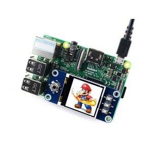 Image 3 - Waveshare 1.44 אינץ LCD תצוגת כובע עבור פטל Pi 2B/3B/3B +/אפס/אפס W,128x128 פיקסלים, SPI ממשק, ST7735S נהג