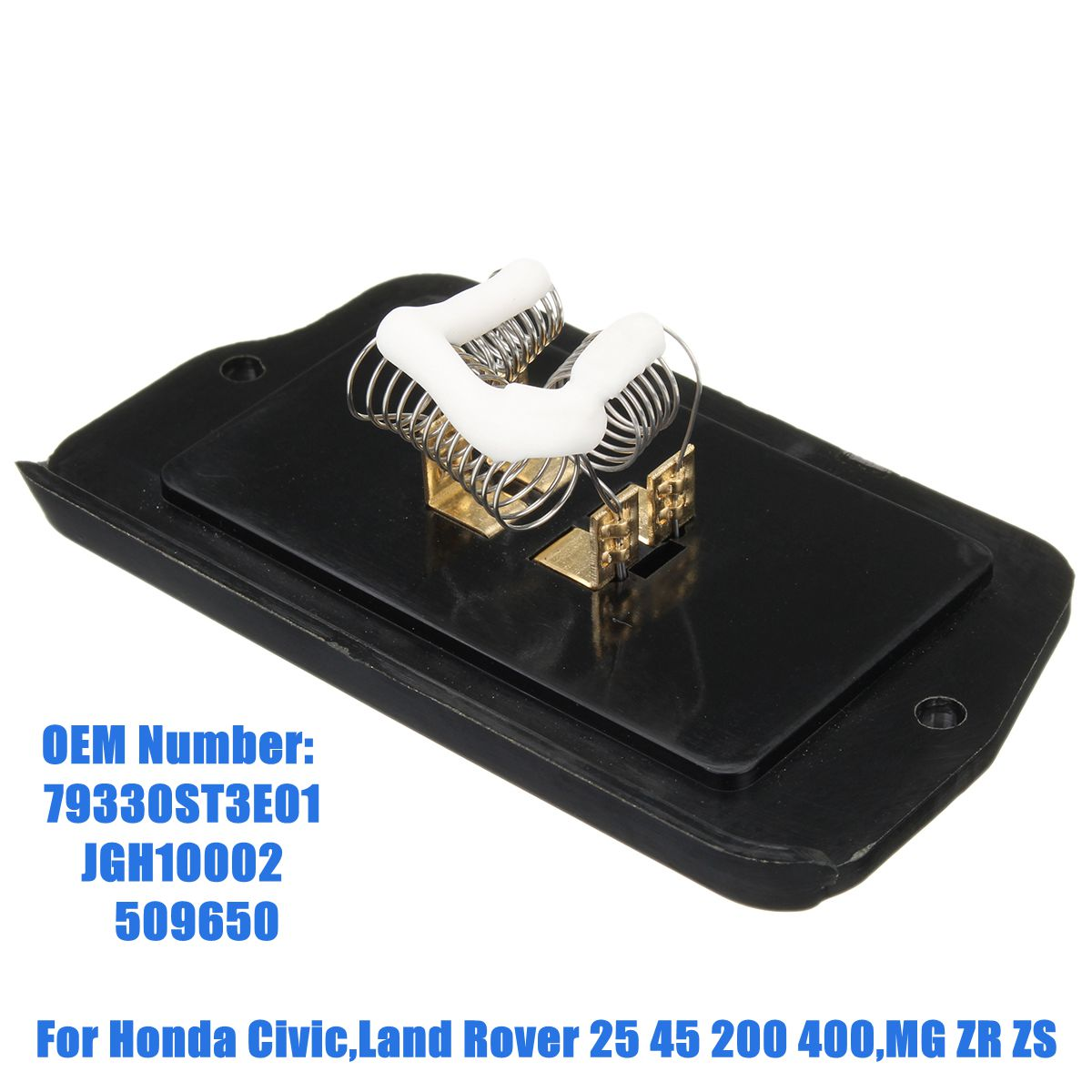 79330ST3E01 JGM10002 Heater Blower Motor Fan Resistor For Honda For Civic/Land Rover 25 45 200 400 for MG ZR ZS Honda Grom
