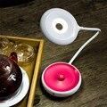 LED Portátil Lámpara de Mesa de Noche Tres Dimmer Interruptor Táctil YoYo Luminarias de Lámpara USB Lámpara de Luz Recargable de La Noche Linterna