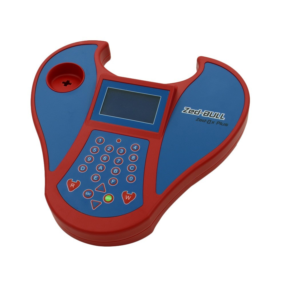 Top rated Newest version V5.08 Big Zed bull Key Programmer Zed-bull Zedbull Key tools With Obd 2 zed-full car key programmer