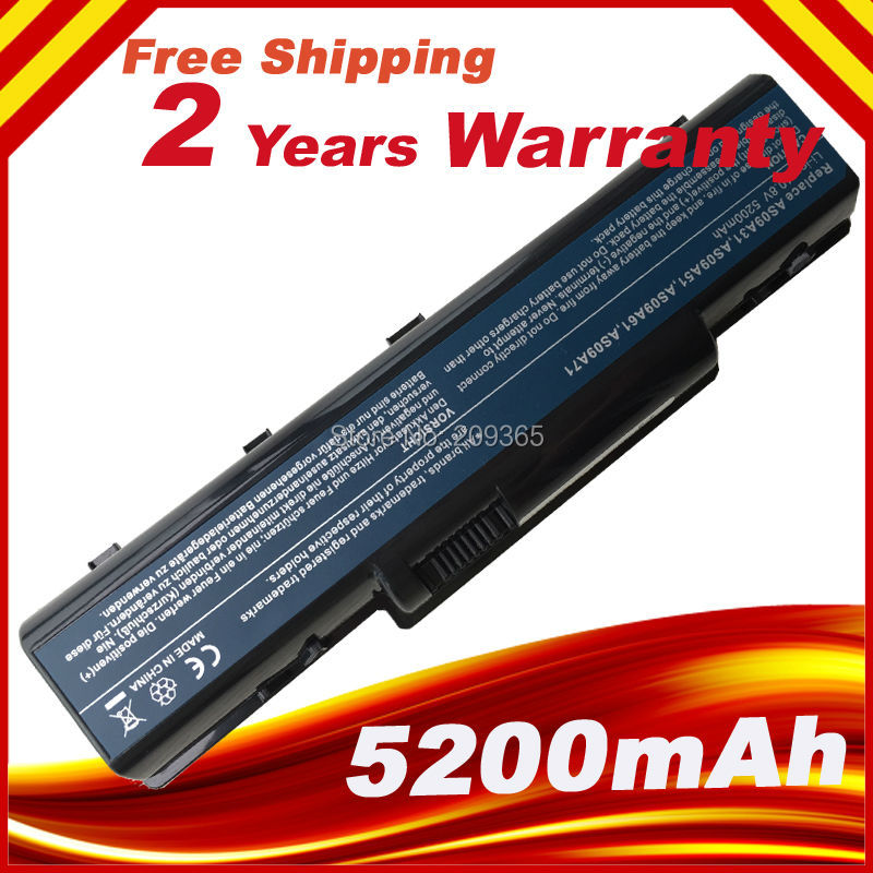 Batterie d'ordinateur portable EMACHINE E725 E527 E625 E627 G620 G627 G725 D525 D725 E525 AS09A61 AS09A70 AS09A71 AS09A73 AS09A75