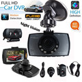 "CARPRIE 2.7"" HD 1080P Dual Lens Vehicle Car DVR Camera Video Recorder Dash Cam G-Sensor Night Vision HDMI"