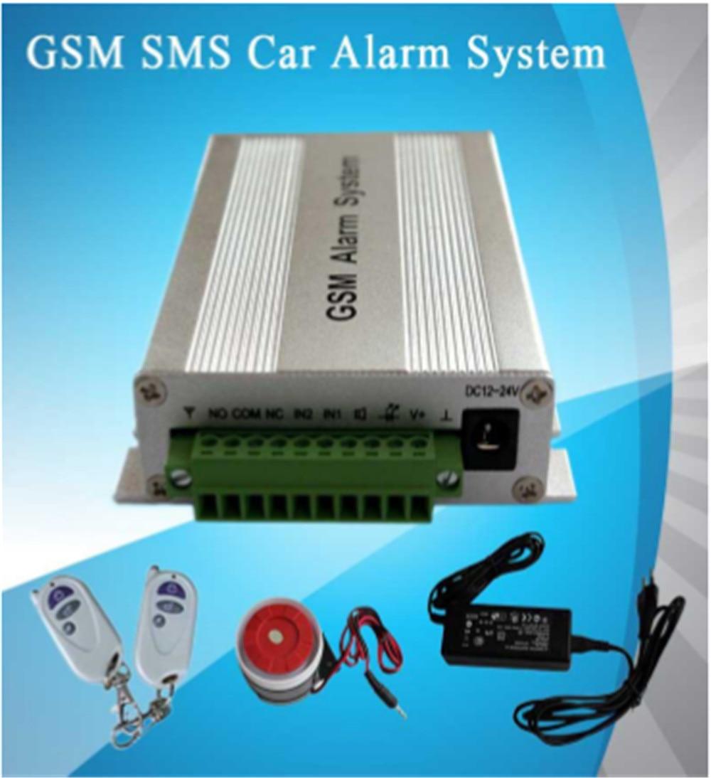 APP Remote Control GSM Car Alarm System