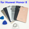 New OEM Glass Cover For Huawei Honor 8 Back Rear Glass Battery Cover Door Housing with Sticker Replacement Parts