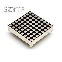 100 قطعة/الحقيبة LED نقطة شاشة عرض مصفوفة 16pin 8x8 3 مللي متر الأحمر المشترك الكاثود الأنود المشترك ل اردوينو AVR # 1088BS/AS